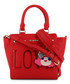 Love red faux-leather tote bag Sale - love moschino Sale