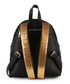 black faux-leather logo backpack Sale - Love Moschino Sale