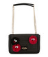 black fabric character shoulder bag Sale - love moschino Sale