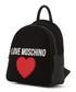 black fabric heart backpack Sale - love moschino Sale