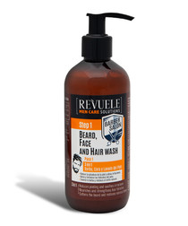 3-in-1 beard, face and hair wash 300ml