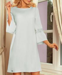 ash bell sleeve shift dress