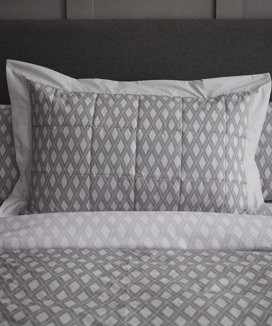 Fairmont grey cotton bedspread Sale - the linen consultancy