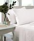White cotton sateen king bedsheet Sale - the linen consultancy Sale
