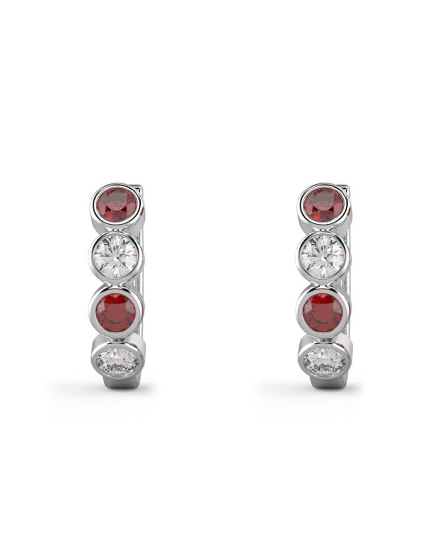 Ruby & diamond basel earrings Sale - Buy Fine Diamonds