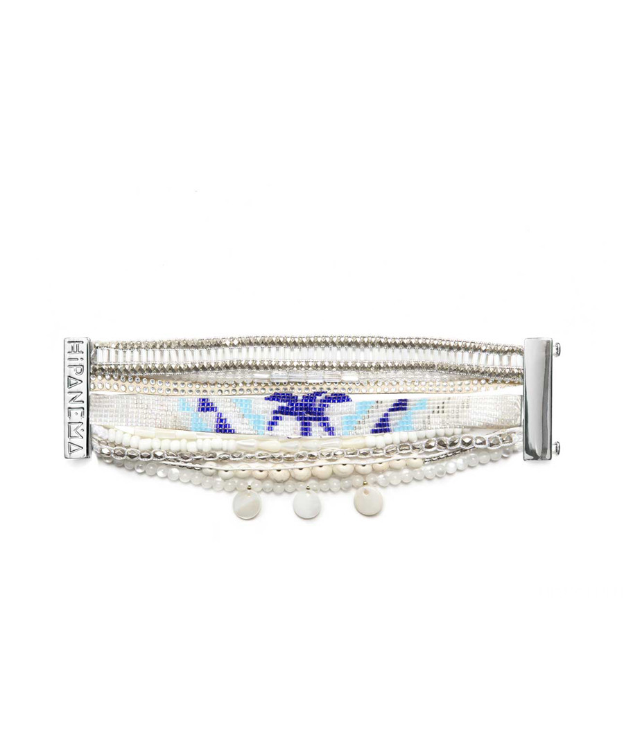Honolulu silver-tone beads bracelet Sale - Hipanema