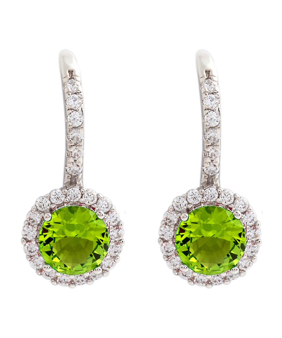 Juliet gold-plated lime drop earrings Sale - bertha