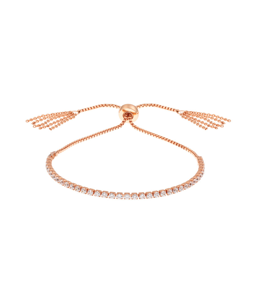 Sophia rose gold-plated slider bracelet Sale - bertha