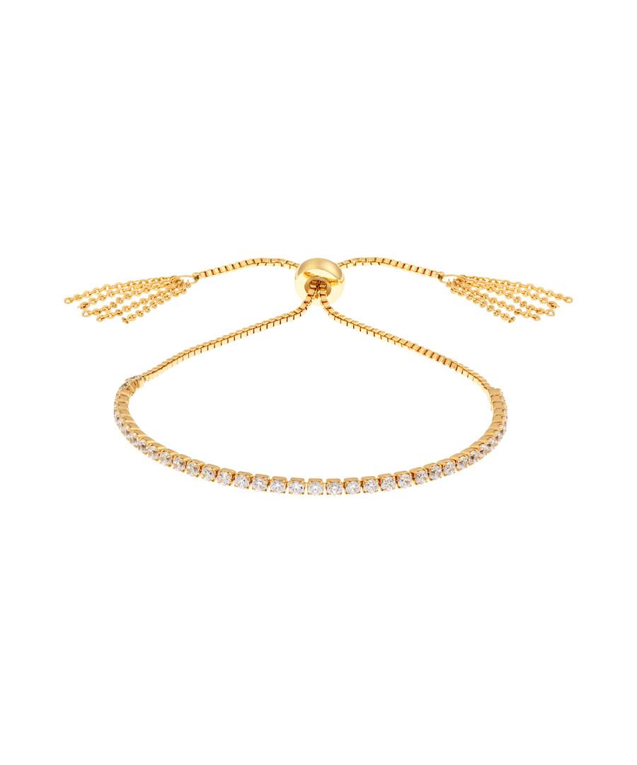Sophia gold-plated slider bracelet Sale - bertha