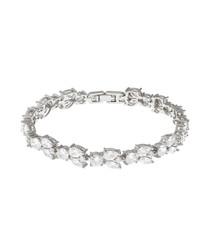 Juliet white crystal bracelet