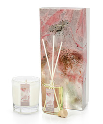 2pc Waterlily candle & 50ml diffuser set