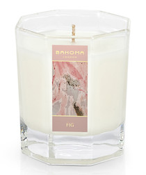 fig large octagonal candle 55hr