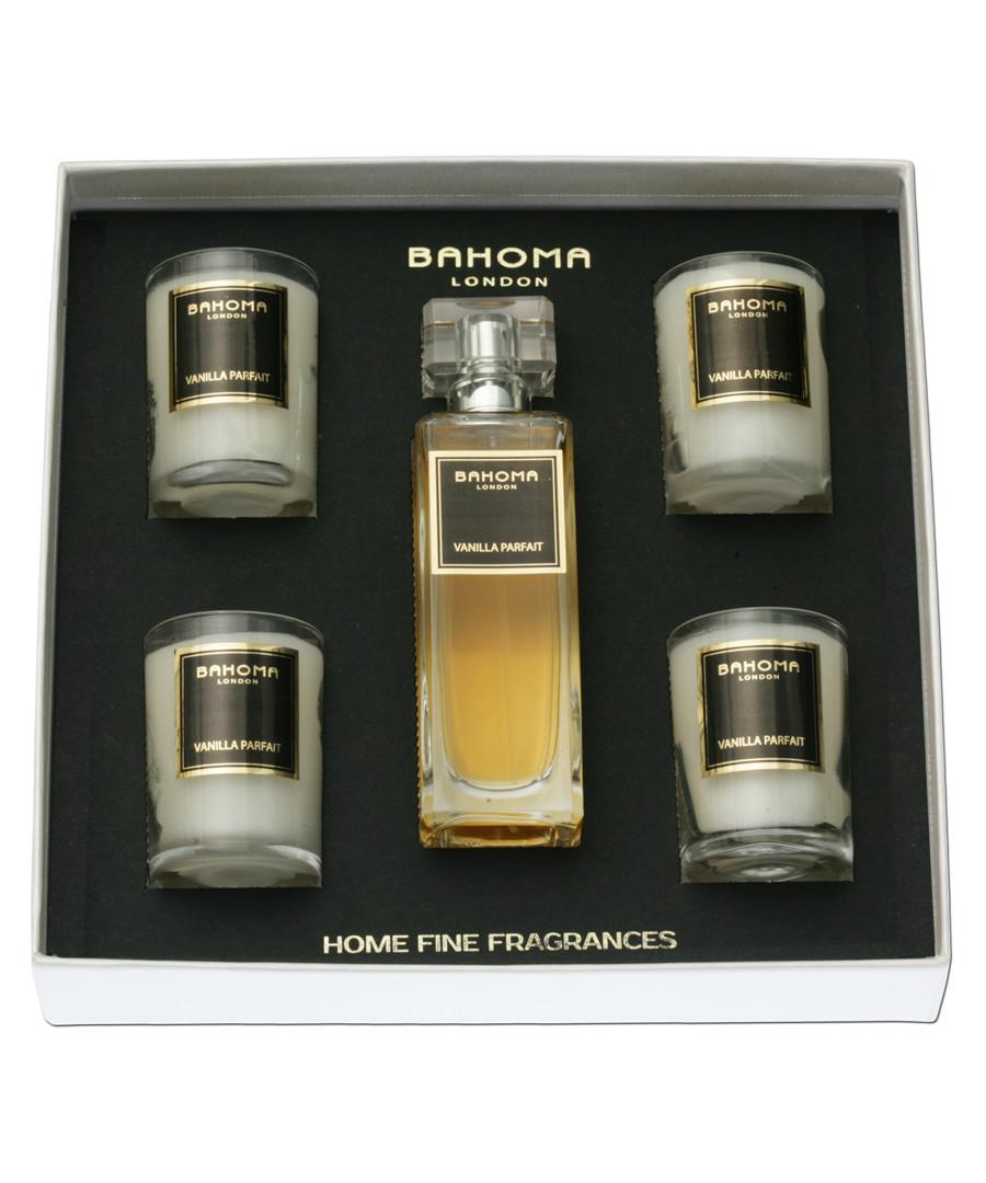 vanilla candles & room spray giftset Sale - bahoma