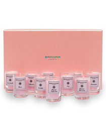 10pc pale pink 10hr candle mix set