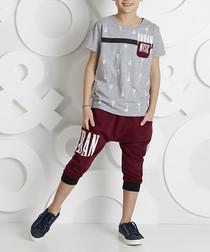Urban Music cotton blend outfit set