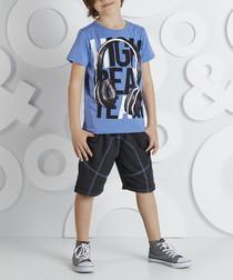 2pc High Team cotton blend outfit set
