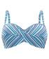 Nina geo print bandeau bikini top Sale - panache Sale