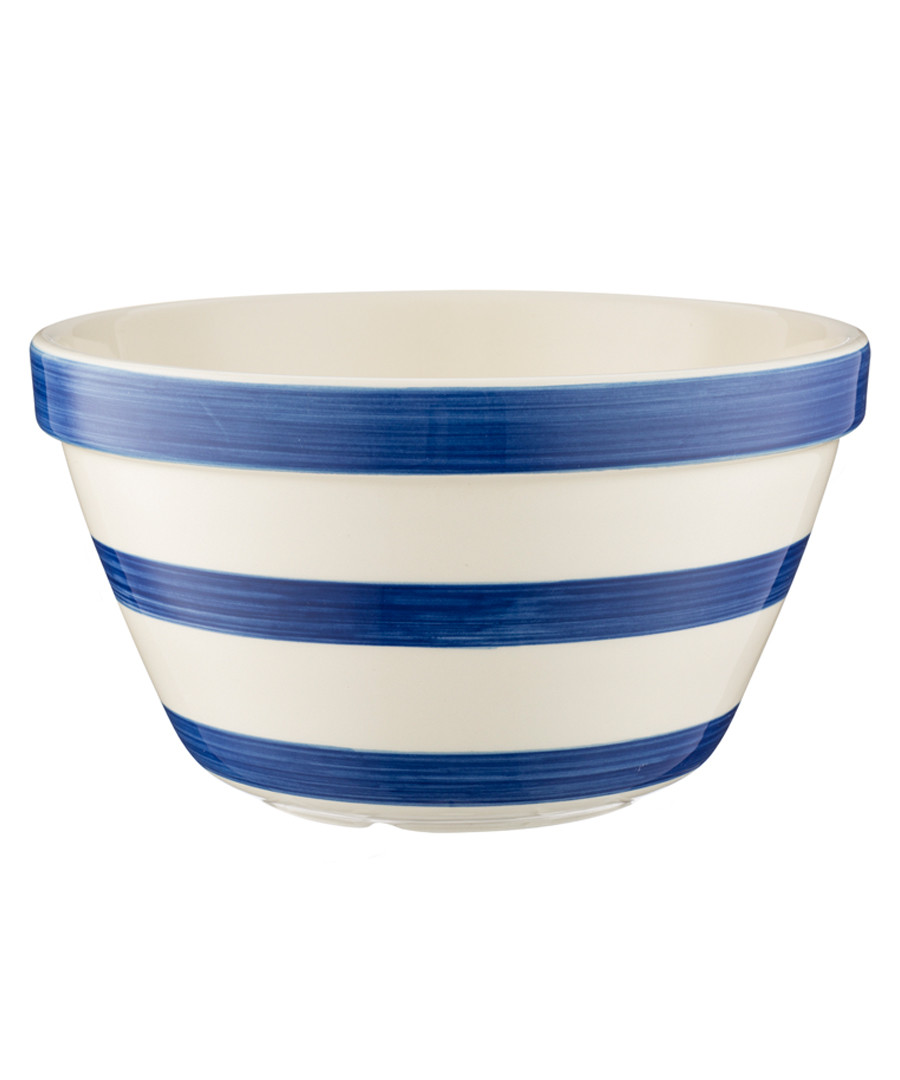navy stripe ceramic bowl 22cm Sale - mason cash