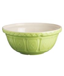 apple green ceramic mixing bowl