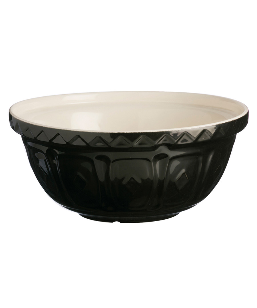 black ceramic mixing bowl 26cm Sale - mason cash