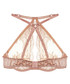 Caramel silk blend keyhole bra Sale - Fleur of England Sale