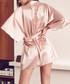Blush silk blend robe Sale - Fleur of England Sale