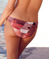 Pink paradise print bikini briefs Sale - Fleur of England Sale