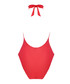 Coral cross knotted swimsuit Sale - Fleur of England Sale