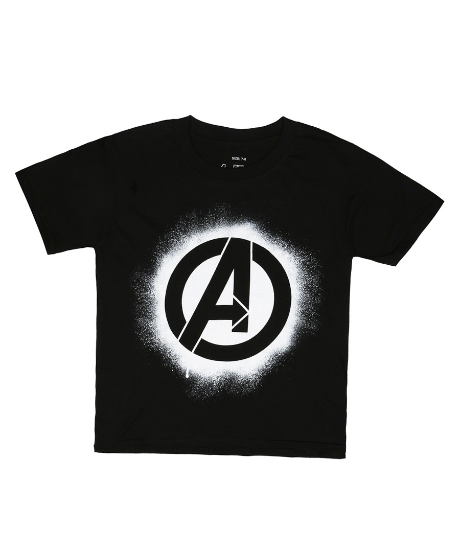 avengers black pure cotton T-shirt Sale - marvel