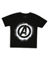 avengers black pure cotton T-shirt Sale - marvel Sale