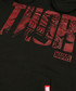 thor black cotton blend hoodie Sale - marvel Sale