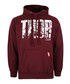 thor burgundy cotton blend hoodie Sale - marvel Sale