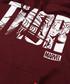 thor burgundy cotton blend hoodie Sale - marvel Sale