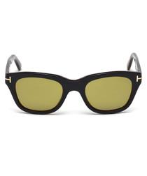 Snowdon black & yellow lens sunglasses