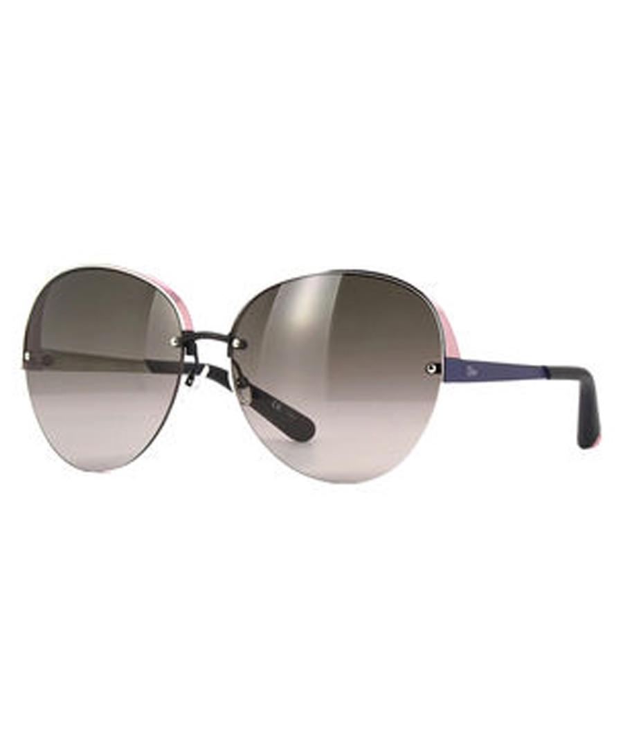 Pink & matte blue oversized sunglasses Sale - dior