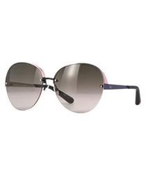 Pink & matte blue oversized sunglasses