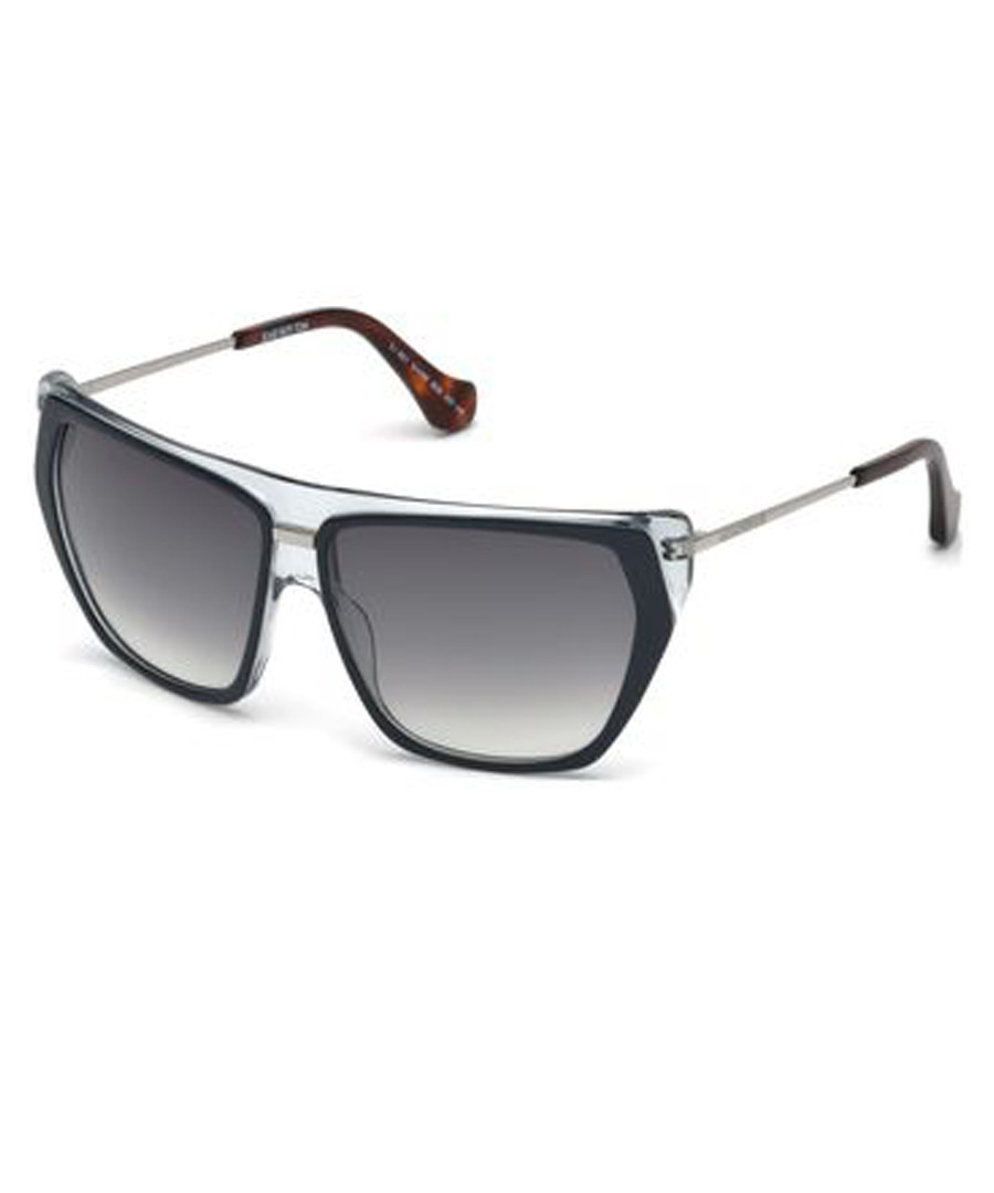 Blue pentagonal sunglasses Sale - balenciaga