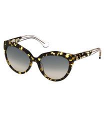 Havana & grey lens sunglasses