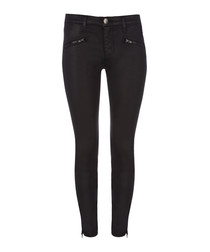 The Soho coated cotton skinny jeans