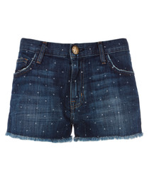 The Boyfriend cotton star print shorts