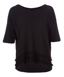The Pompom pure cotton T-shirt