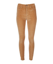 The High Waist Stiletto barley jeans