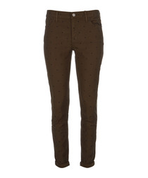 The Easy Stiletto cotton skinny jeans