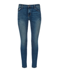 The Stiletto blue skinny jeans