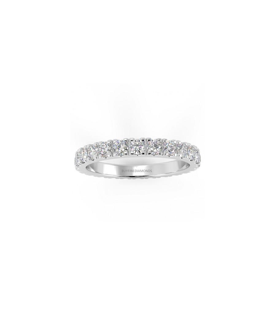 1.00ct Diamond pave & white gold ring Sale - Buy Fine Diamonds