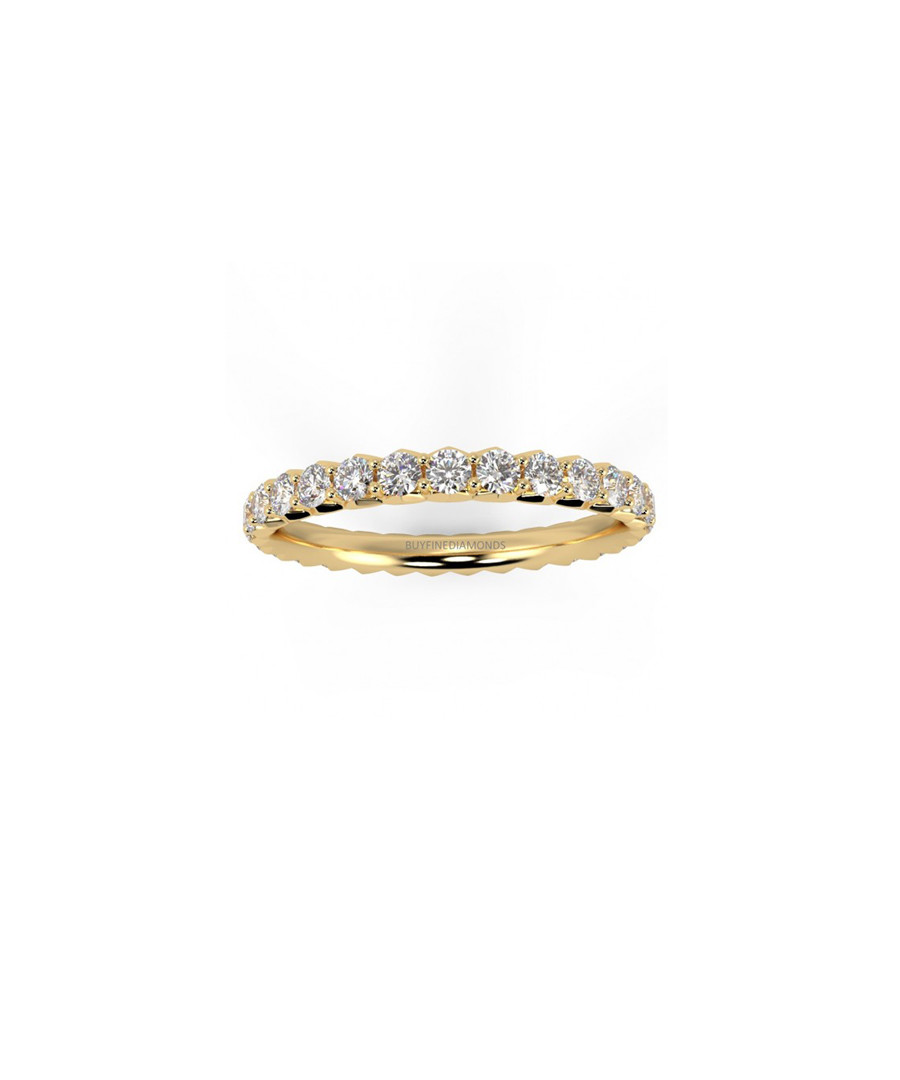 1.00ct Diamond pave & 18k gold ring Sale - Buy Fine Diamonds