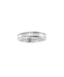 2.00ct Baguette Diamond platinum ring