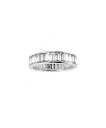 2.00ct Baguette Diamond platinum ring