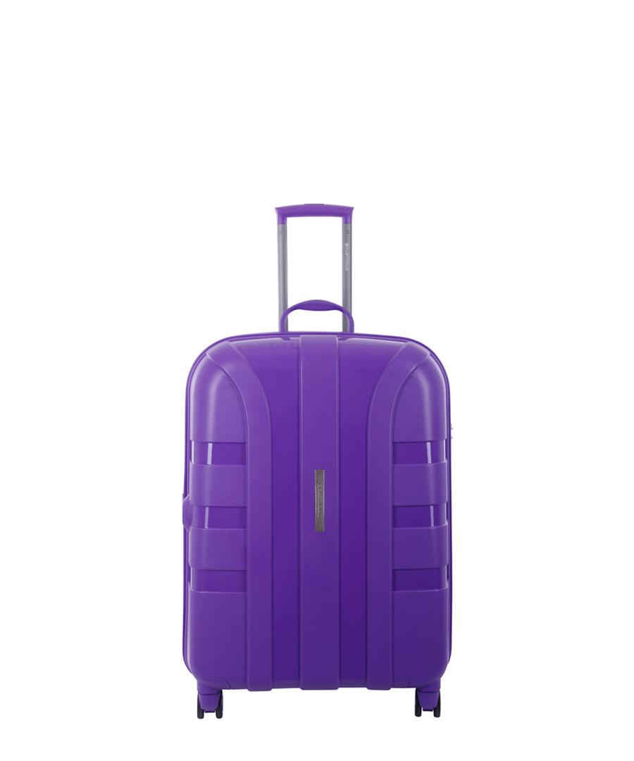 Sonora violet spinner suitcase 57cm Sale - platinium