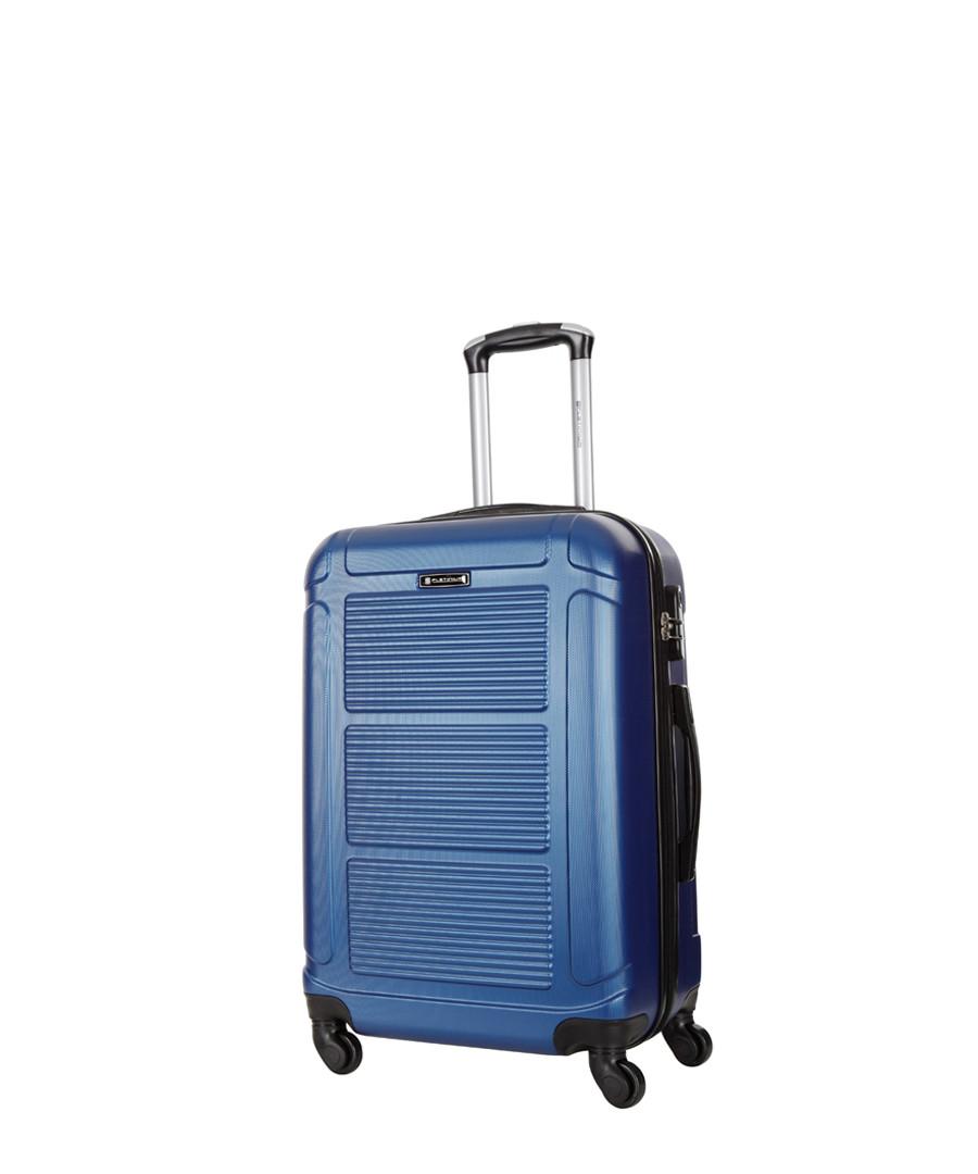 Basildon blue spinner suitcase 60cm Sale - platinium